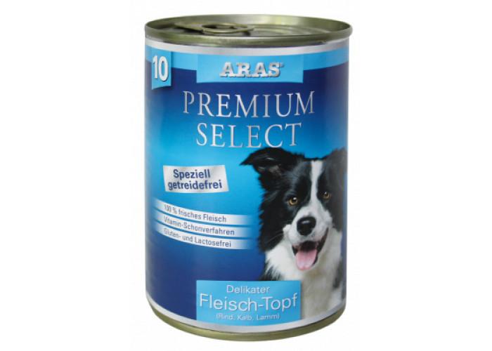ARAS PREMIUM SELECT консервы для собак «Говядина, телятина и баранина» 410 г